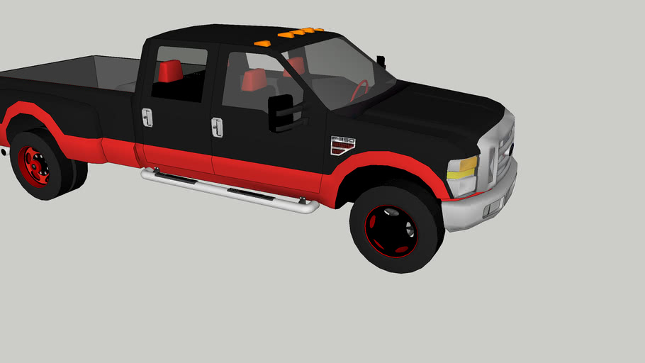 ford F-350 moddified