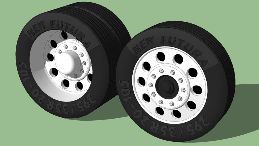 Radial Tires for Bus or Truck (New Futura AXZ-450)