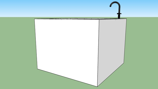 Giant White Sink
