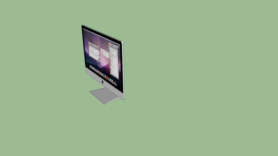 Ultra Thin 2012 iMac - Made By Lewis071