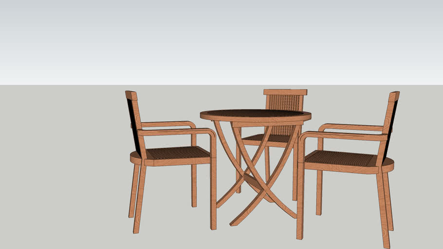 Table and Chair Outdoor_TB_OD_001