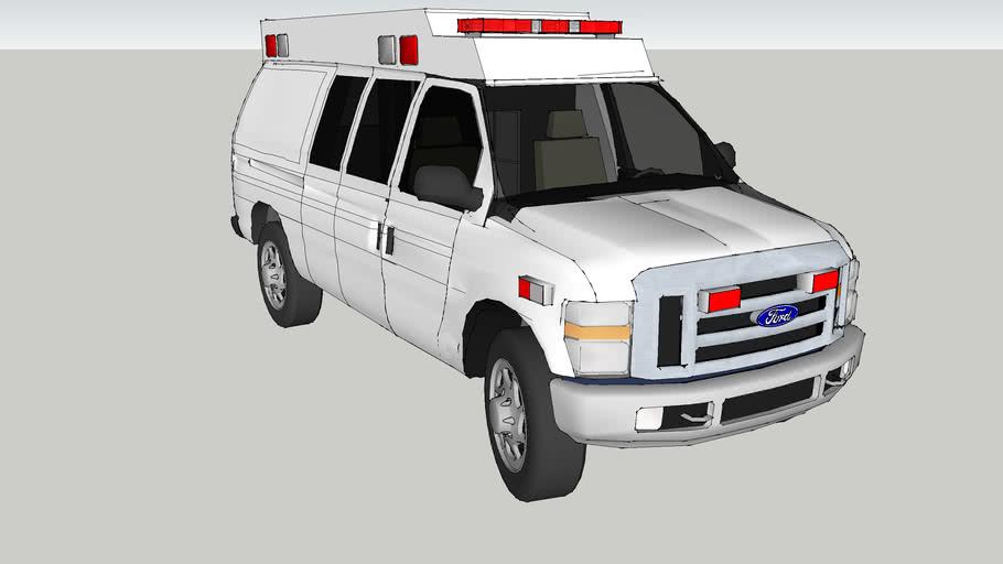 ambulance type ll   ford f350 econoline model 2010