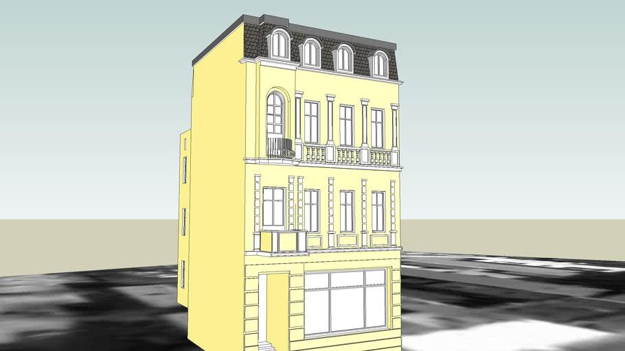 TENEMENT HOUSE ON 24 MARESHALL FOCH STREET IN BYDGOSZCZ