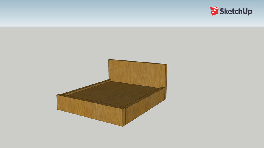 Wimbledon Solid Oak Bed (Super King)
