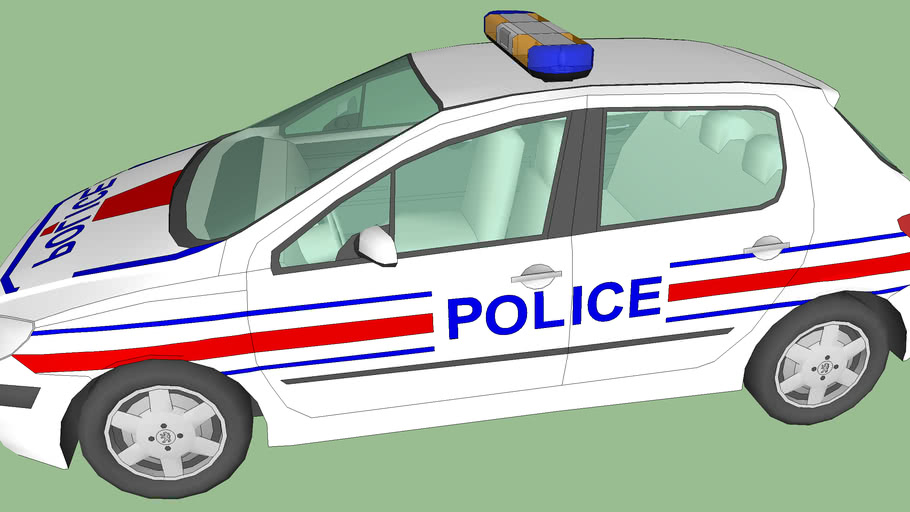 Peugeot 307 police nationale/municipale