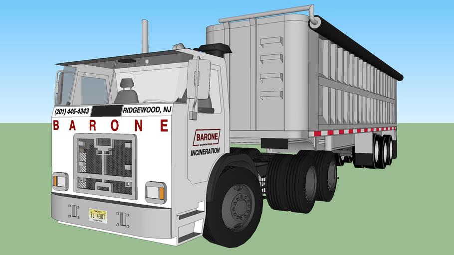 2010 Autocar ACX Barone Sanitation Incineration truck