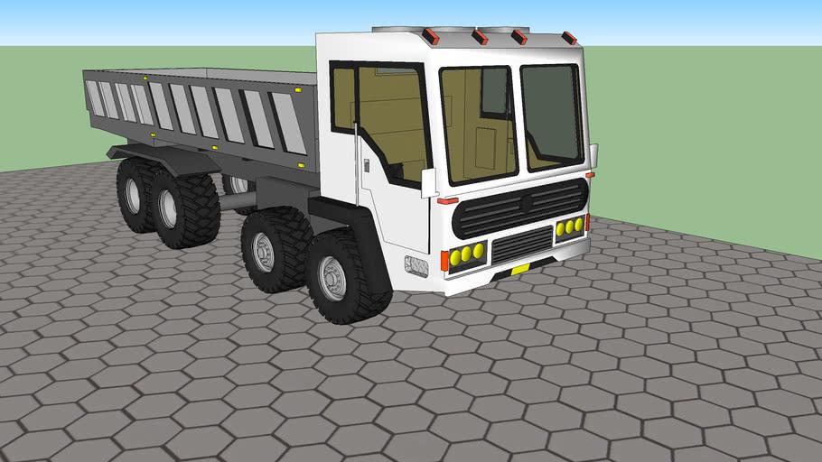 double wheel AShok ley land truck