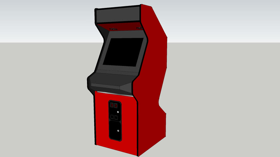 Generic arcade cabinet- Dynamo Z-back
