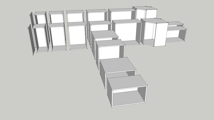 Ikea Faktum Wall Kitchen Cabinets Precise Measurements 3d Warehouse