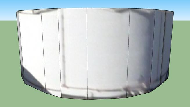 Oil storage tank, Oregon, USA