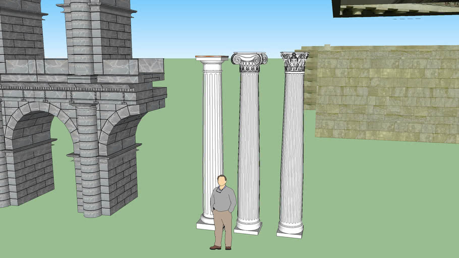 Classical Greek and Roman Architectual Components