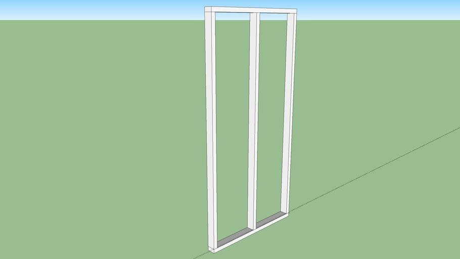 Metric Framing for 1 Sheet Plywood