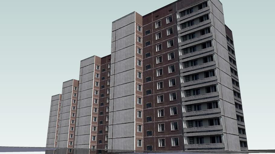 Lesya Ukrainka Street, 34 building (Pripyat)