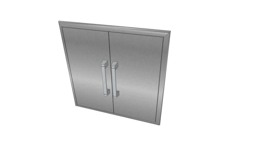26″ Double Access Doors - Coyote Outdoor Living, Inc.   3D ... on Coyote Outdoor Living Inc id=64658