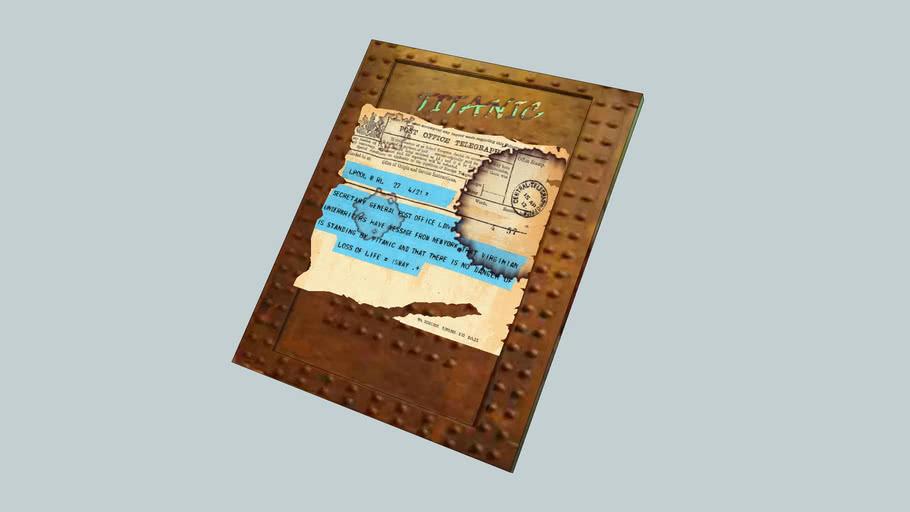 """""""TITANIC"""" ... 1st.. Telegram of Disaster!.."""