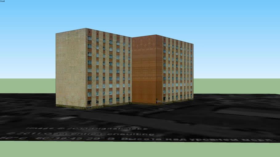Общежитие №8 лесотехнического университета