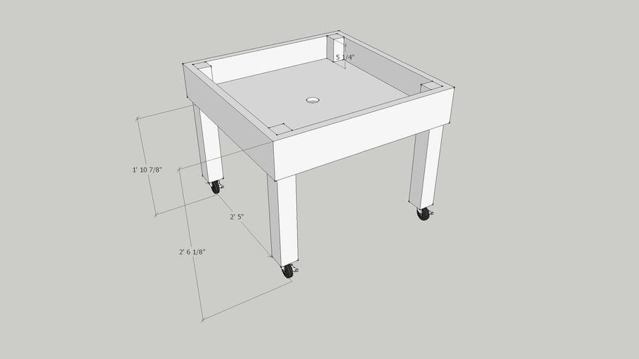 handicap garden table