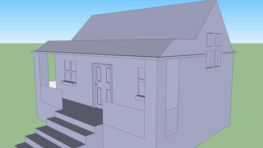 small shack\ranch house