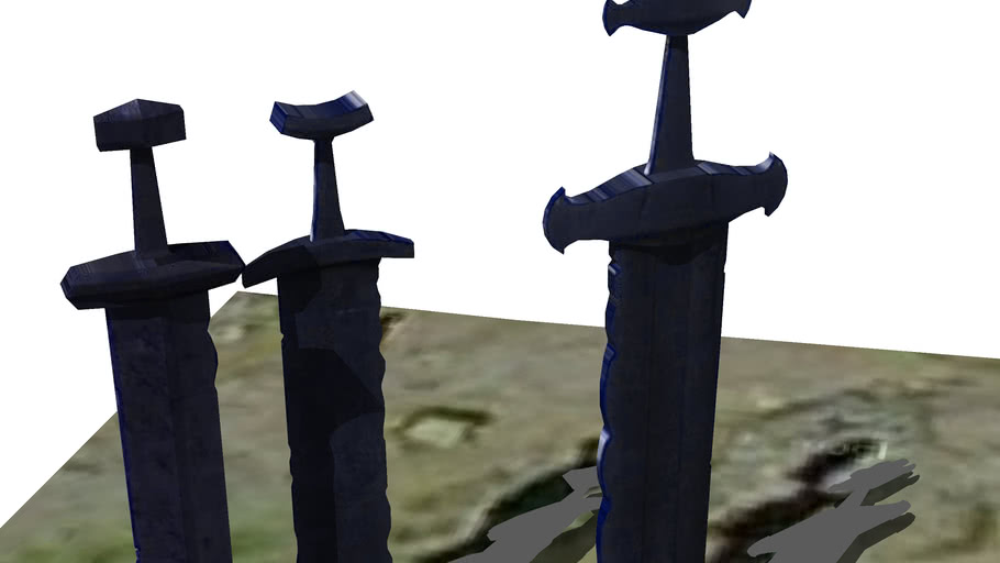 Swords in rock - Sverd i fjell