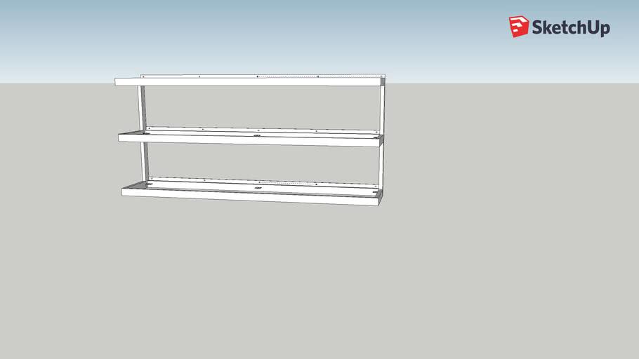 Cottrill Back bar shelves