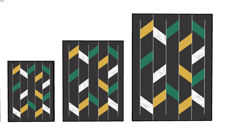 QUADRO URBAN ARTS _ convergir imaturo II - verde+mostrada - UrbanArts
