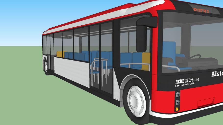 Bus eléctrico de Chile