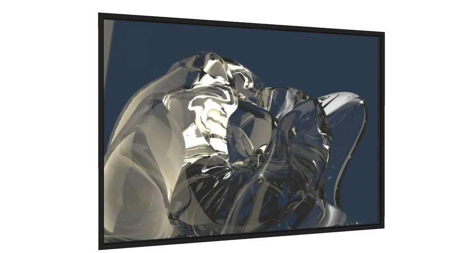 Quadro Abstrato 204815 - Galeria9, por Paulo Ide