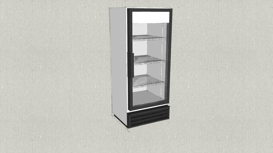 True GDM-12 Glass Door Merchandiser