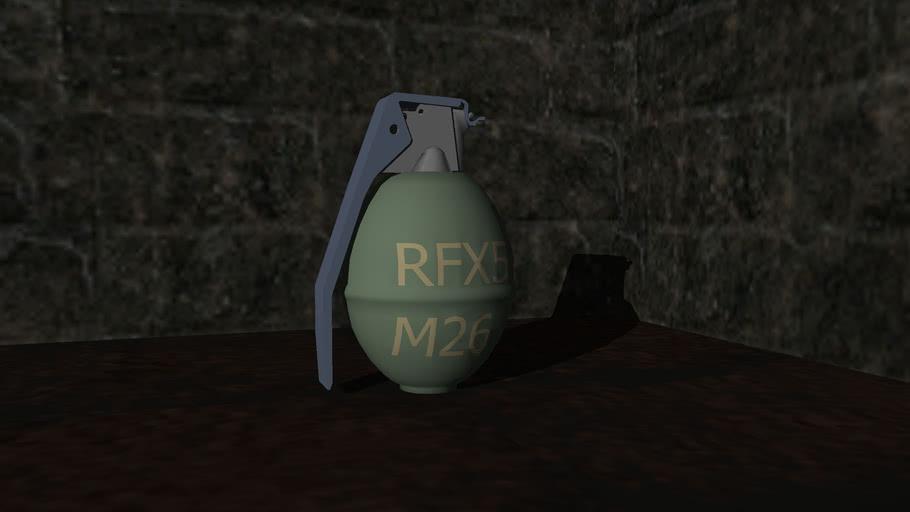 M26 Hand grenade