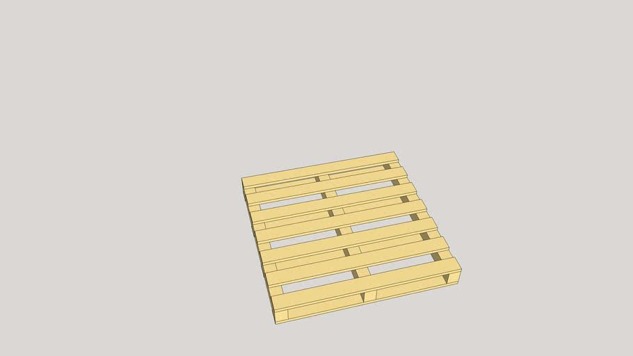 Brick pallet big (1:16)