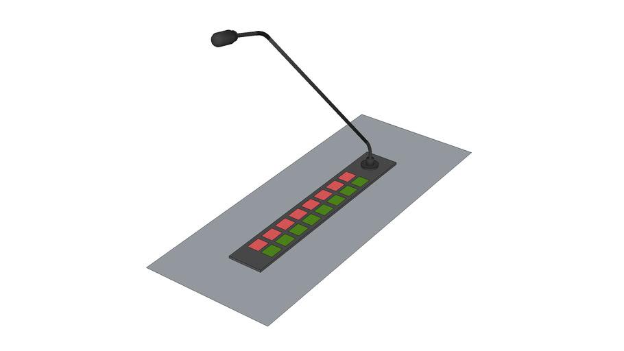 Intercom Station, table mount