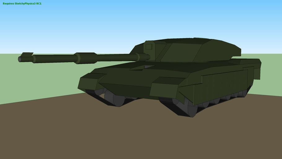 Challenger 2 Finished