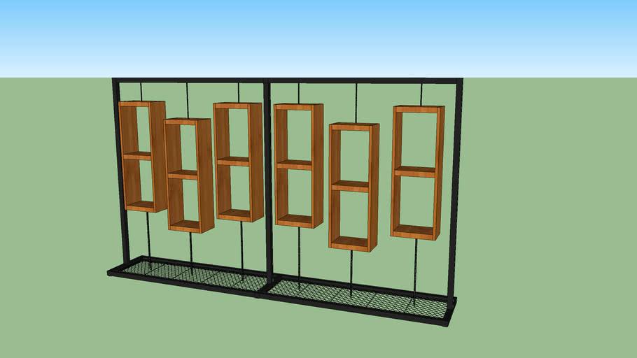 Display metal wood