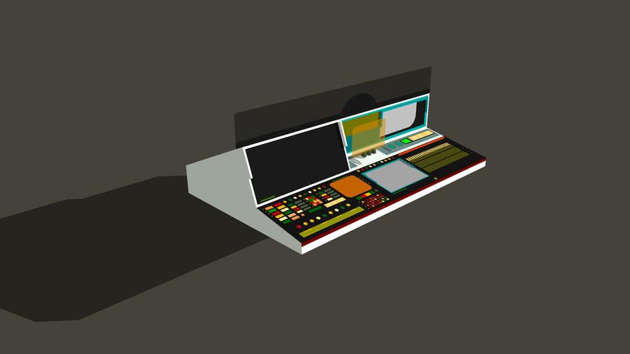 Star trek supercomputer console