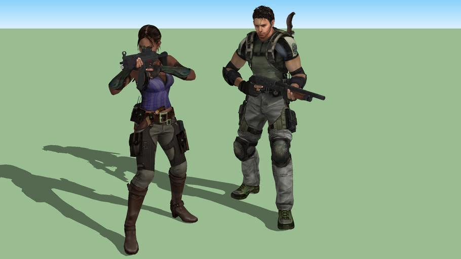 Resident Evil 5 Sheva & Chris