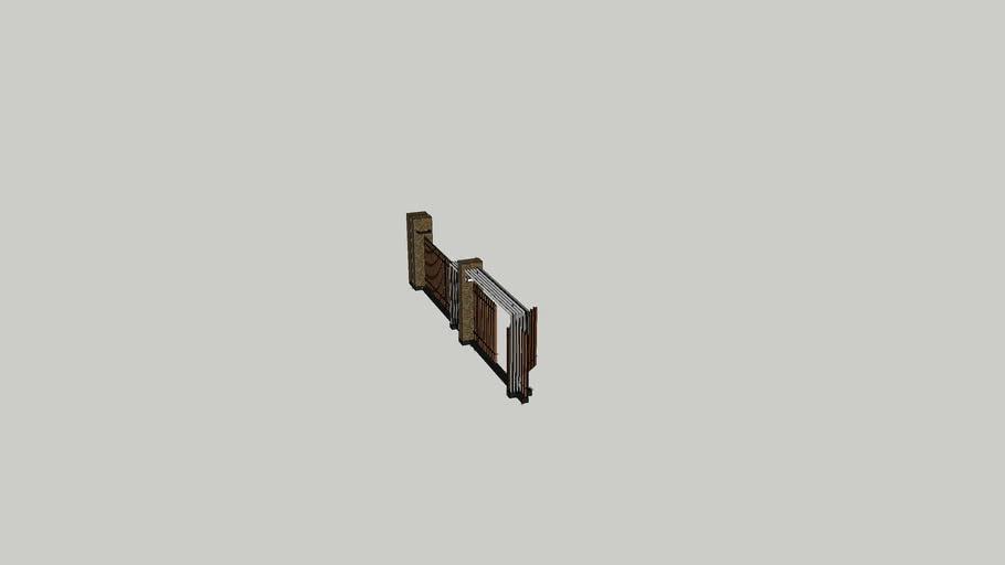 модель ворот
