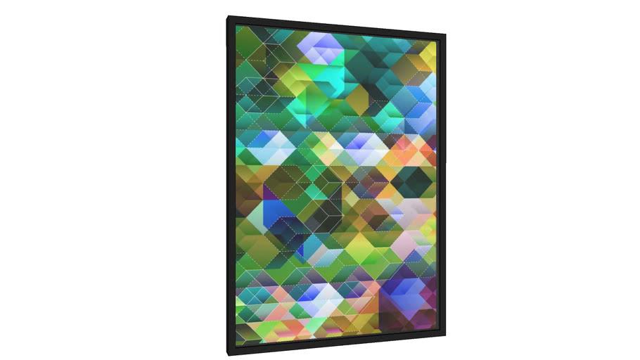 Quadro Blended cube-13 - Galeria9, por Farago