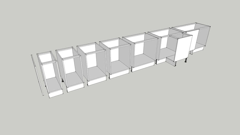 Ikea Faktum Base Kitchen Cabinets, Ikea Kitchen Cabinets Sizes