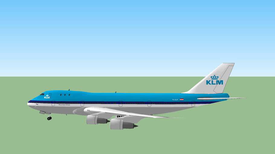 KLM Royal Dutch Airlines, boeing 747-200