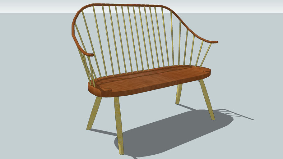 Thos. Moser Continuous Arm Bench