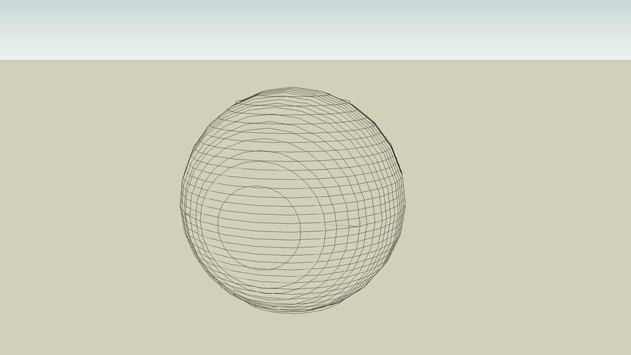 Double Planar sphere