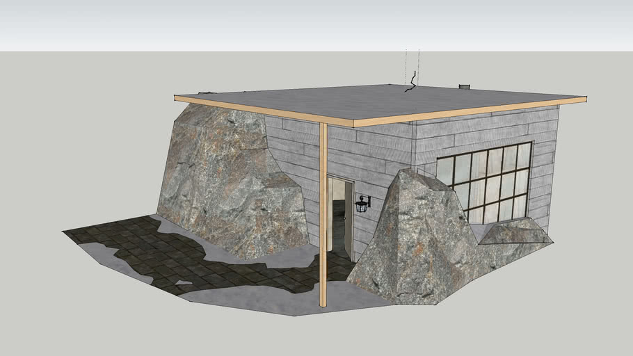 Greenlandic miniature house