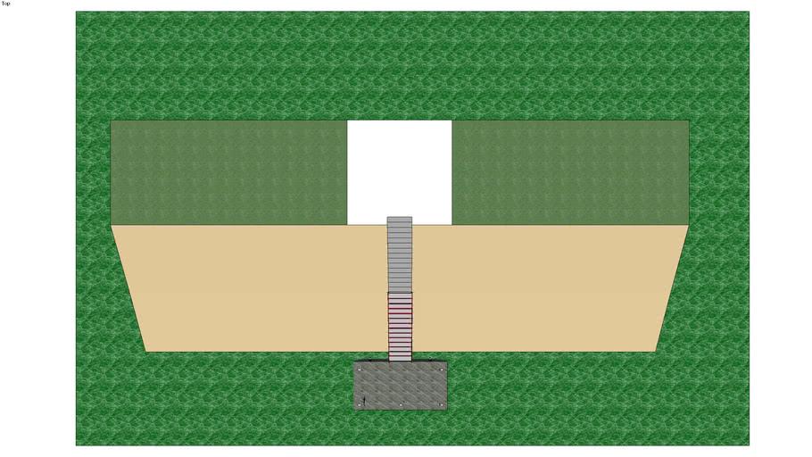 estructura de muelle flotante