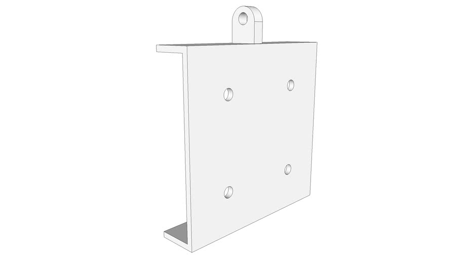 Steel C-Plate for Hanging Rod System