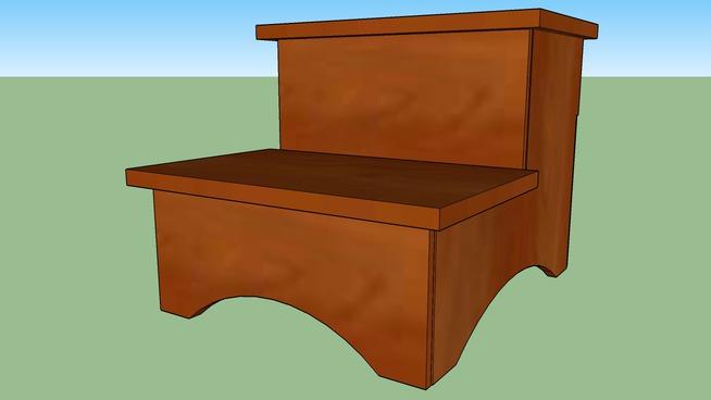 Debi's step stool.
