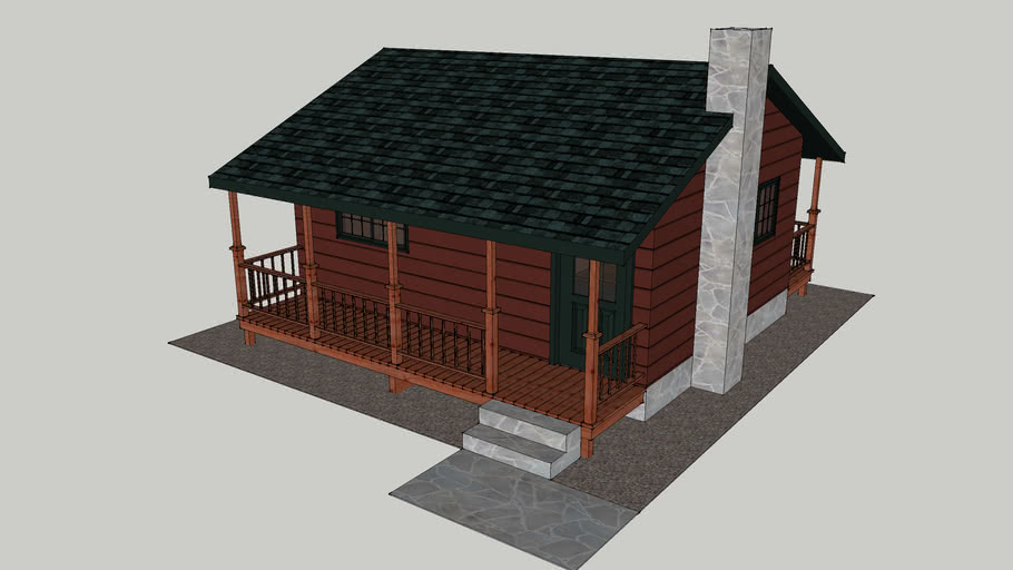 Small one bedroom cabin