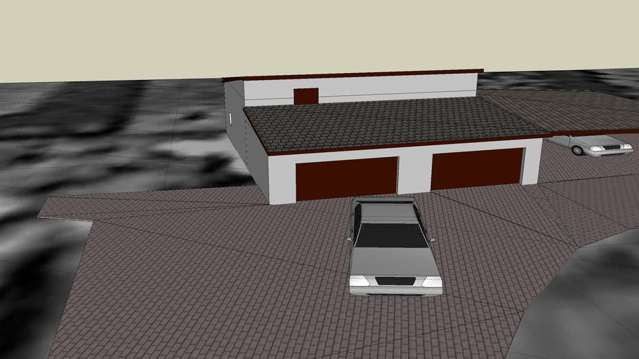 Garaż i wiata
