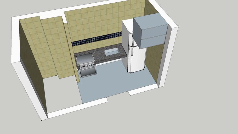 Cozinha Apartamento Vida Plena