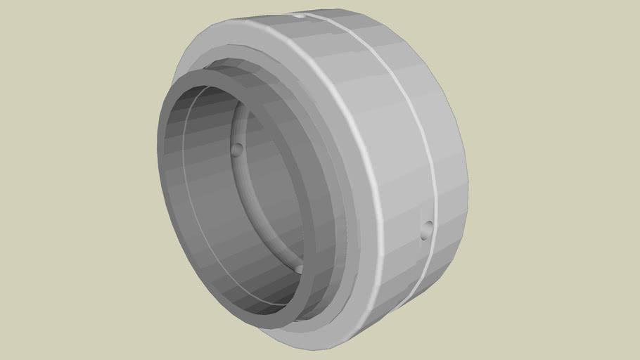 Spherical plain bearings - GE..-HO-2RS