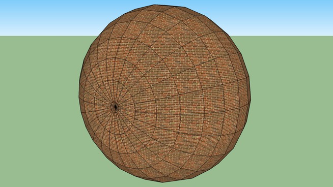 brick sphere